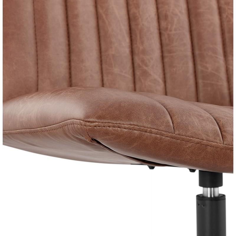 PALOMA swivel vintage chair (brown) - image 47285