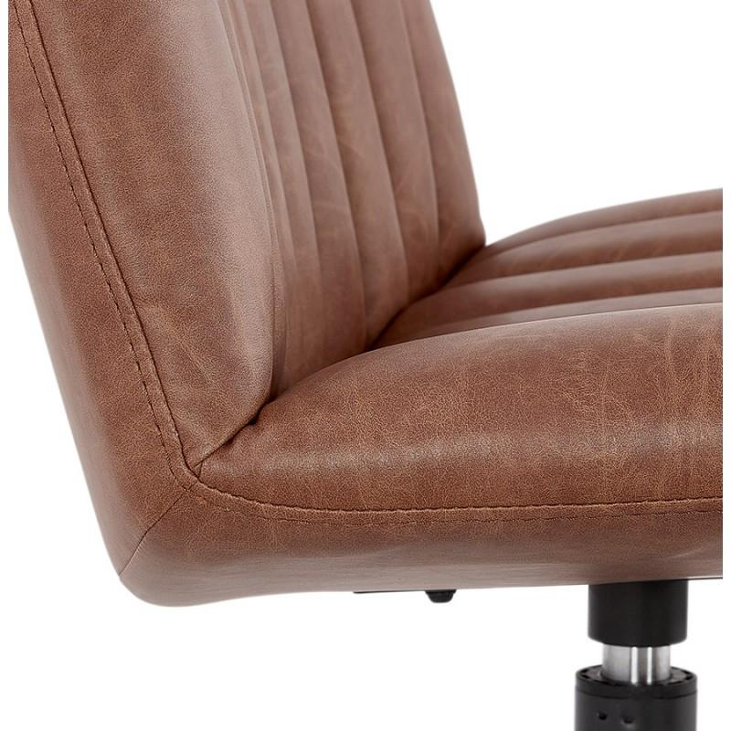 PALOMA swivel vintage chair (brown) - image 47286