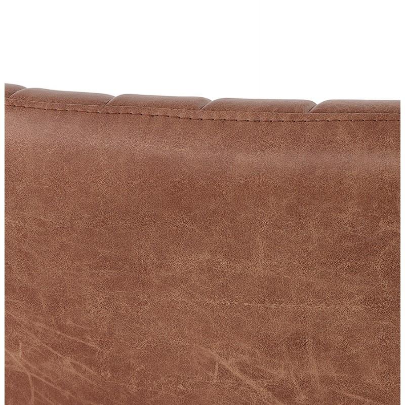 Fauteuil vintage pivotant PALOMA (marron) - image 47288
