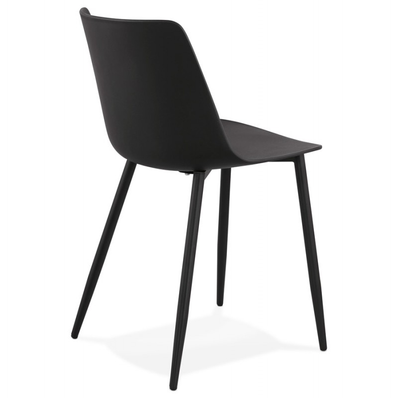 Chaise design et contemporaine MANDY (noir) - image 47580