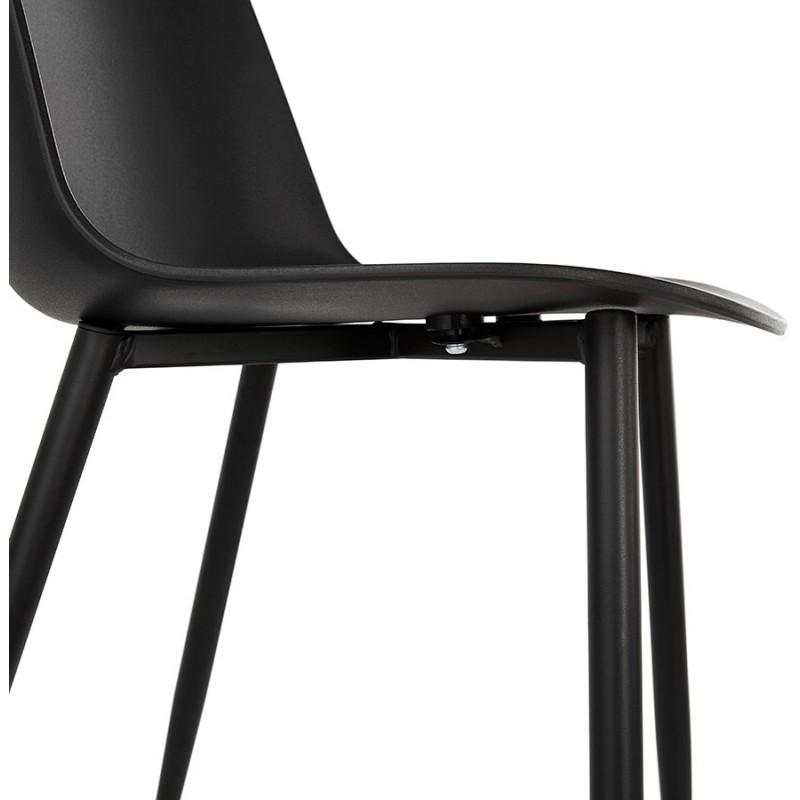 Chaise design et contemporaine MANDY (noir) - image 47585