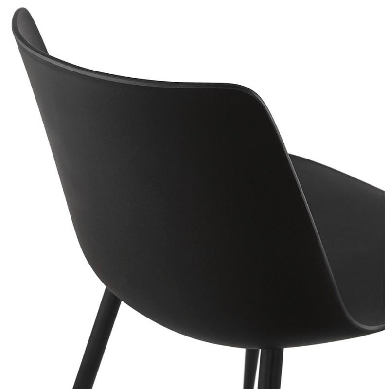 Chaise design et contemporaine MANDY (noir) - image 47586
