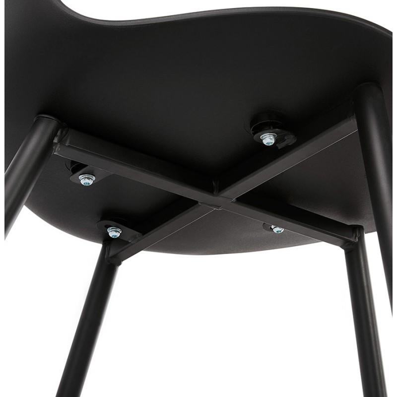 Chaise design et contemporaine MANDY (noir) - image 47587