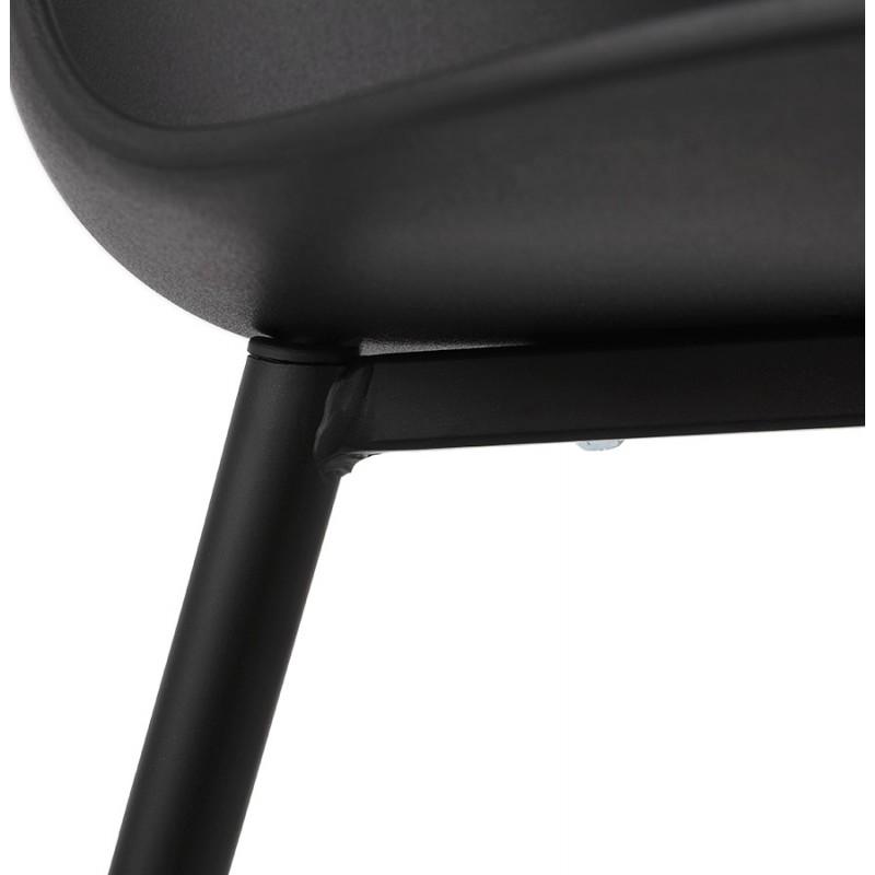 Chaise design et contemporaine MANDY (noir) - image 47588