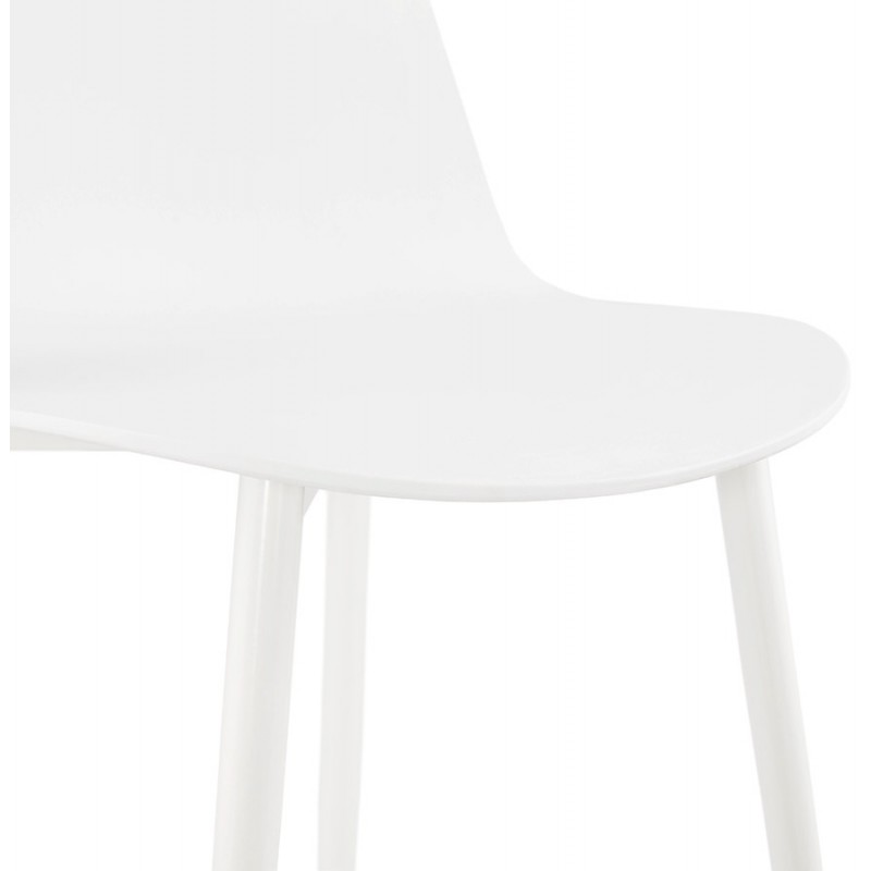 Chaise design et contemporaine MANDY (blanc) - image 47596