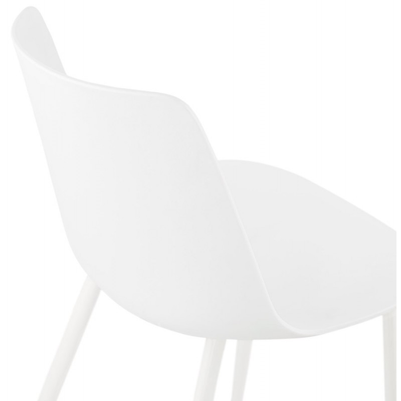 Chaise design et contemporaine MANDY (blanc) - image 47598