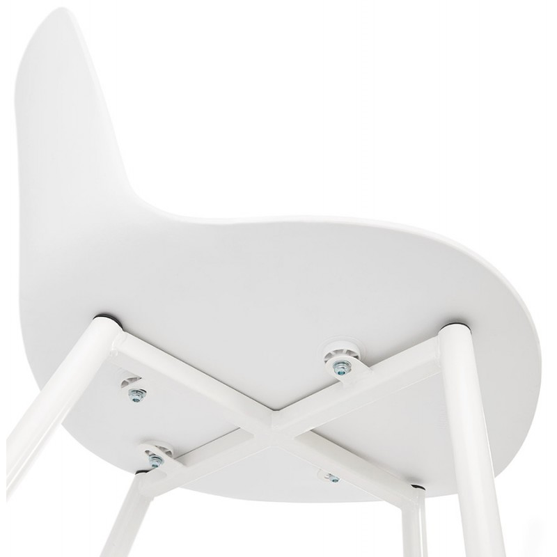 Chaise design et contemporaine MANDY (blanc) - image 47601