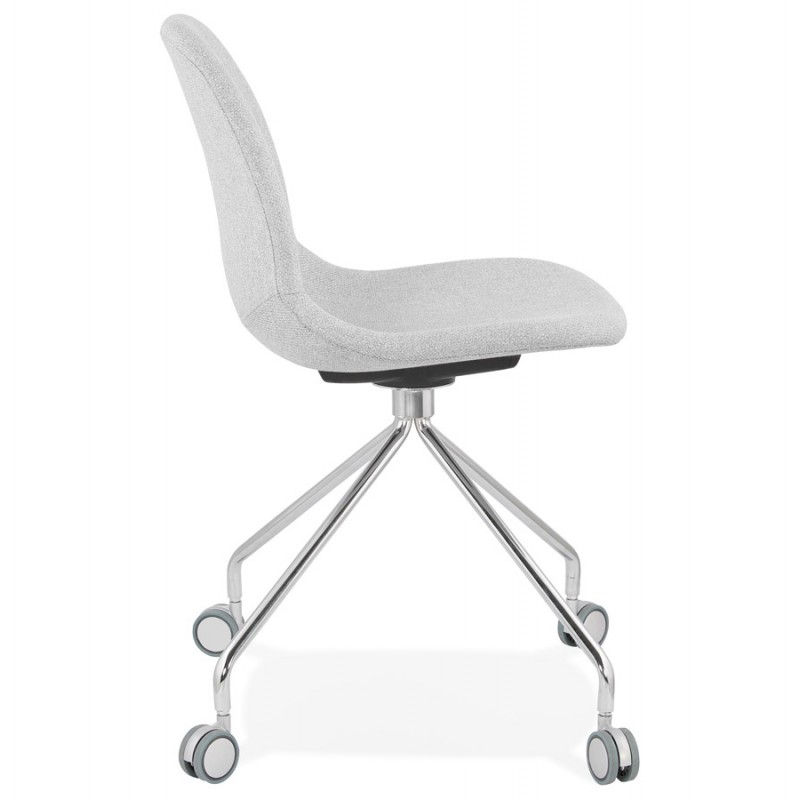 Office chair on MARYA fabric wheels (light grey) - image 47635