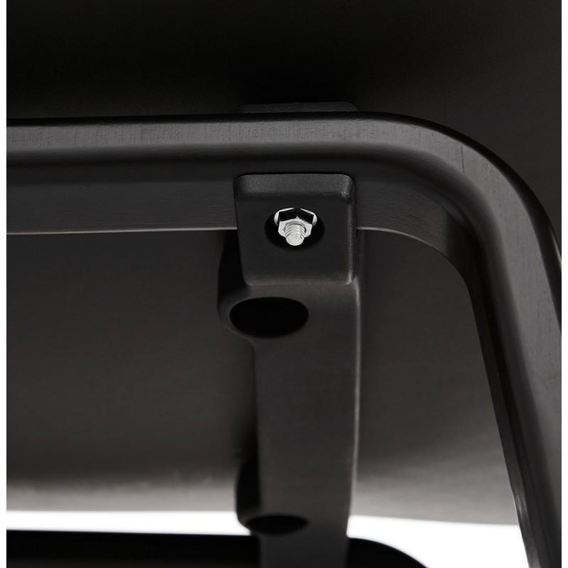Chaise design pieds bois noir SANDY (noir) - image 47975