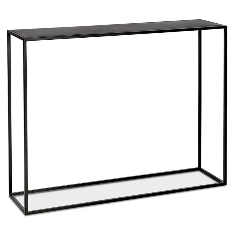 Consola de metal INDUSTRIAL ROSALINE (negro) - image 48342