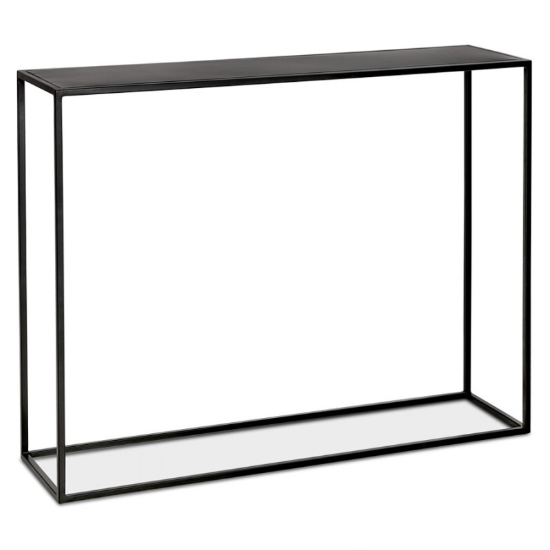 Console industrielle en métal ROSALINE (noir) - image 48342
