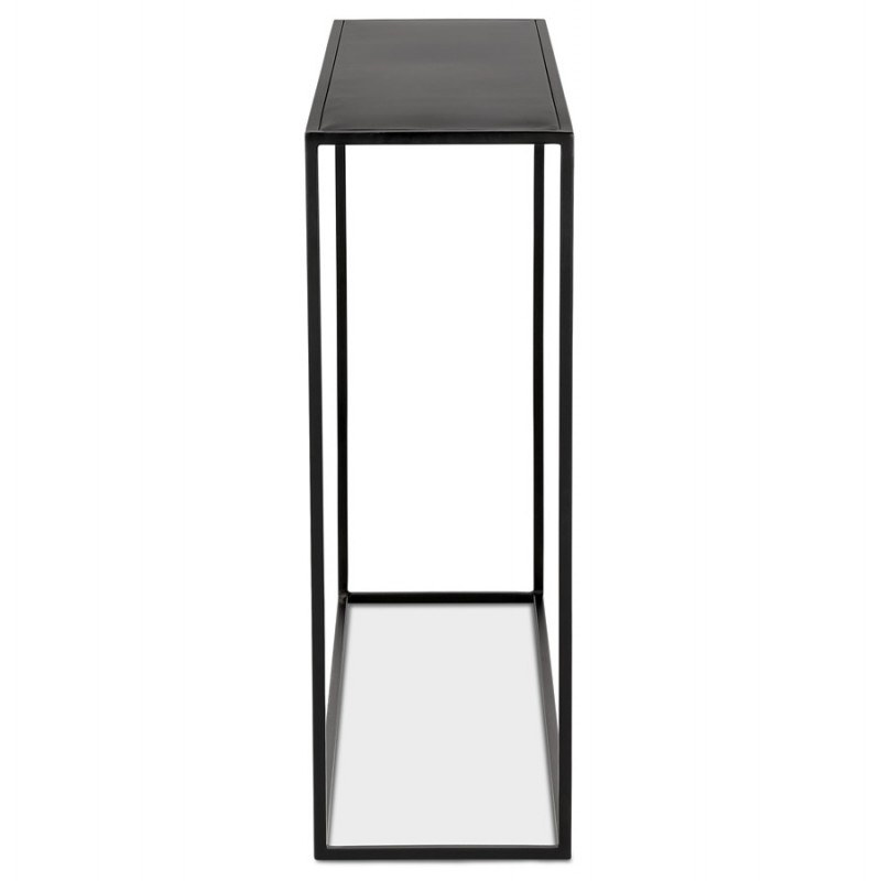 Consola de metal INDUSTRIAL ROSALINE (negro) - image 48344