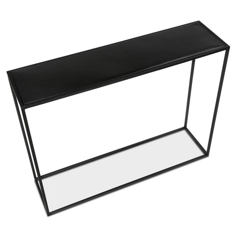 Consola de metal INDUSTRIAL ROSALINE (negro) - image 48346