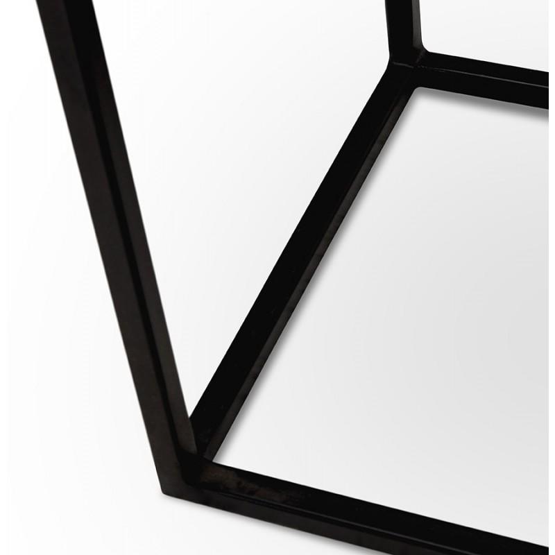 Consola de metal INDUSTRIAL ROSALINE (negro) - image 48351