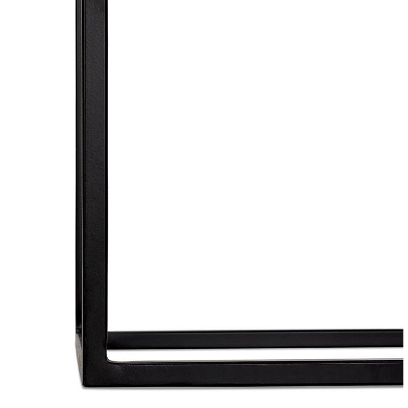 Consola de metal INDUSTRIAL ROSALINE (negro) - image 48352