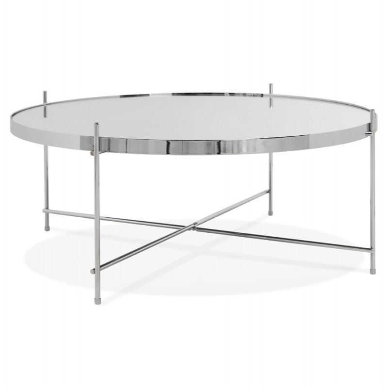 Table basse design RYANA BIG (chrome) - image 48459
