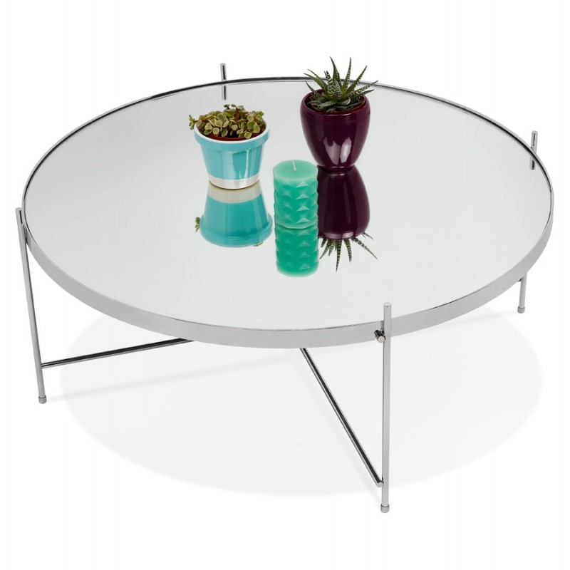 Table basse design RYANA BIG (chrome) - image 48466