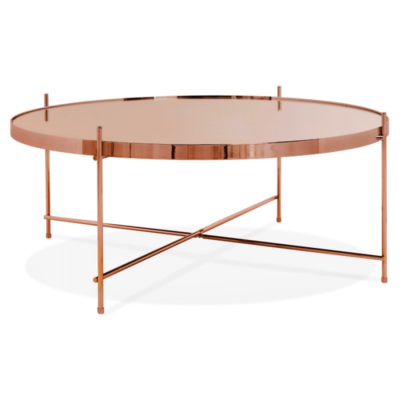 Table basse design RYANA BIG (cuivre) - image 48475