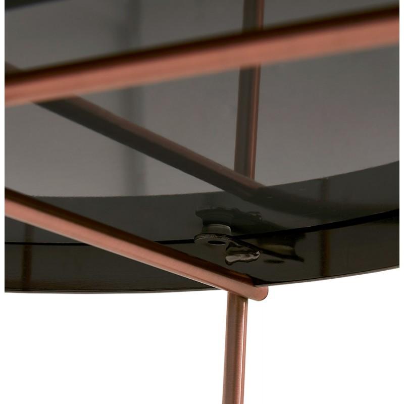 Table basse design RYANA BIG (cuivre) - image 48479