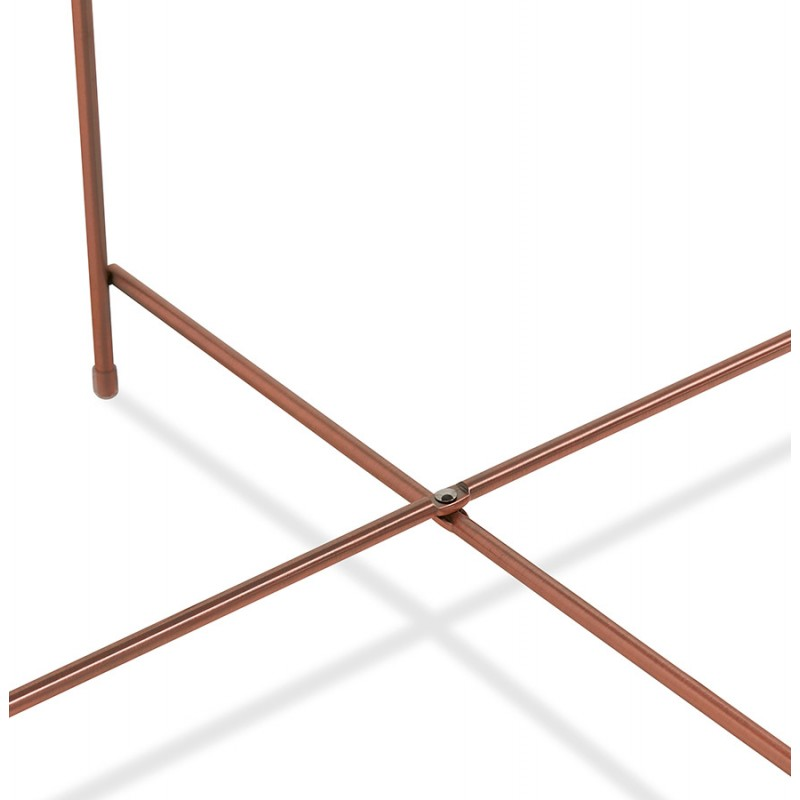 Table basse design RYANA BIG (cuivre) - image 48481