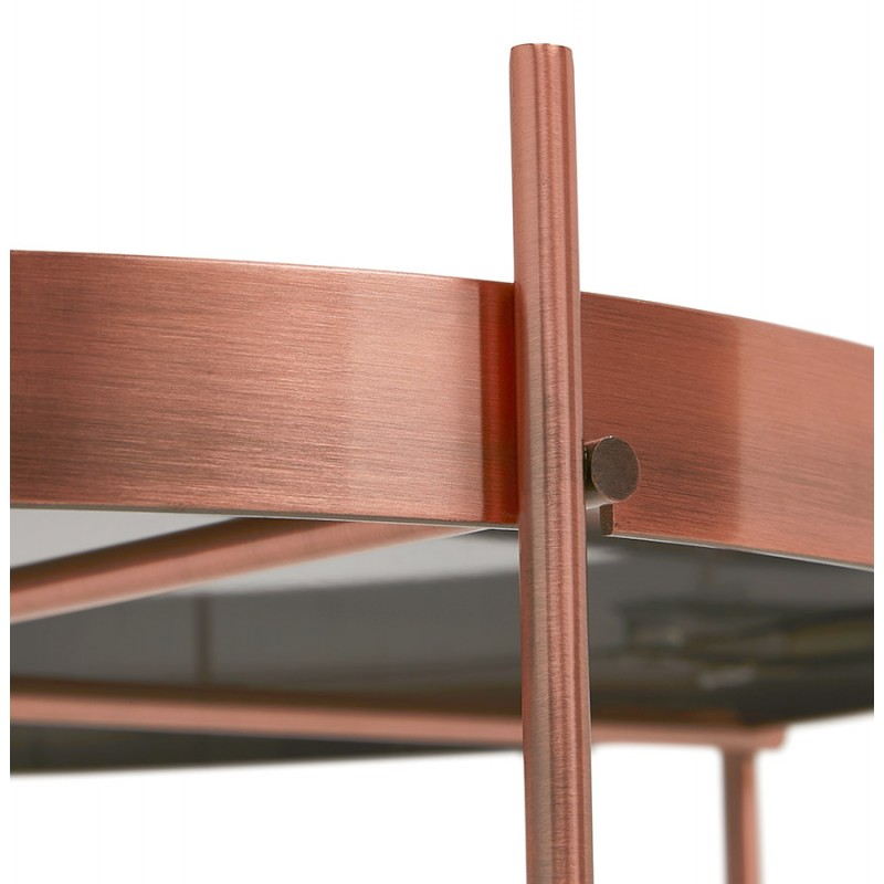 Table basse design, table d'appoint RYANA MEDIUM (cuivre) - image 48502