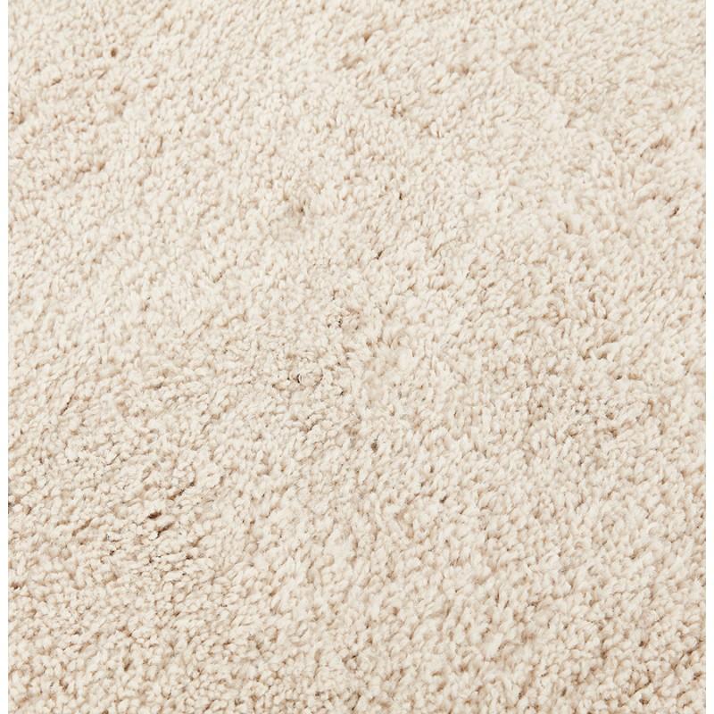 Tapis design rond (Ø 160 cm) SABRINA (beige) - image 48544