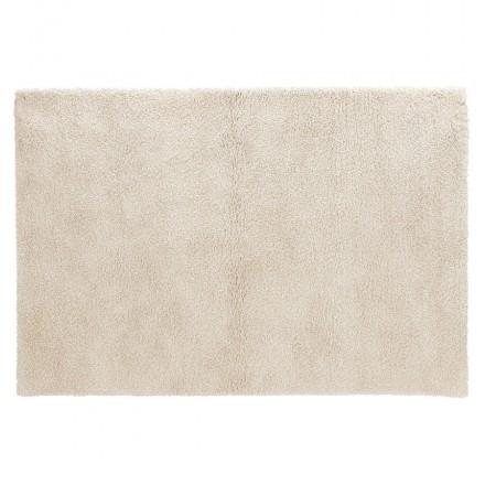 Rechteckiger Designteppich - 120x170 cm SABRINA (beige)