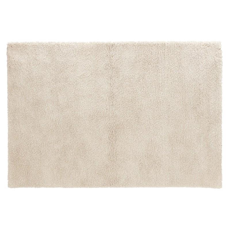 Tapis design rectangulaire - 120x170 cm SABRINA (beige) - image 48553