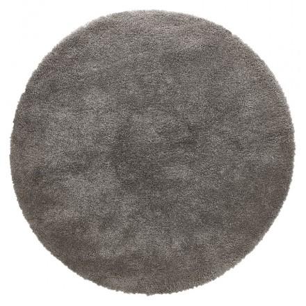 Tappeto rotondo (160 cm) SABRINA (grigio scuro)