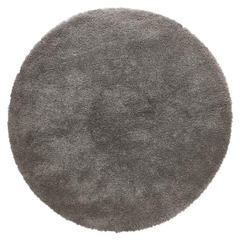 Tapis design rond (Ø 160 cm) SABRINA (gris foncé) - image 48569