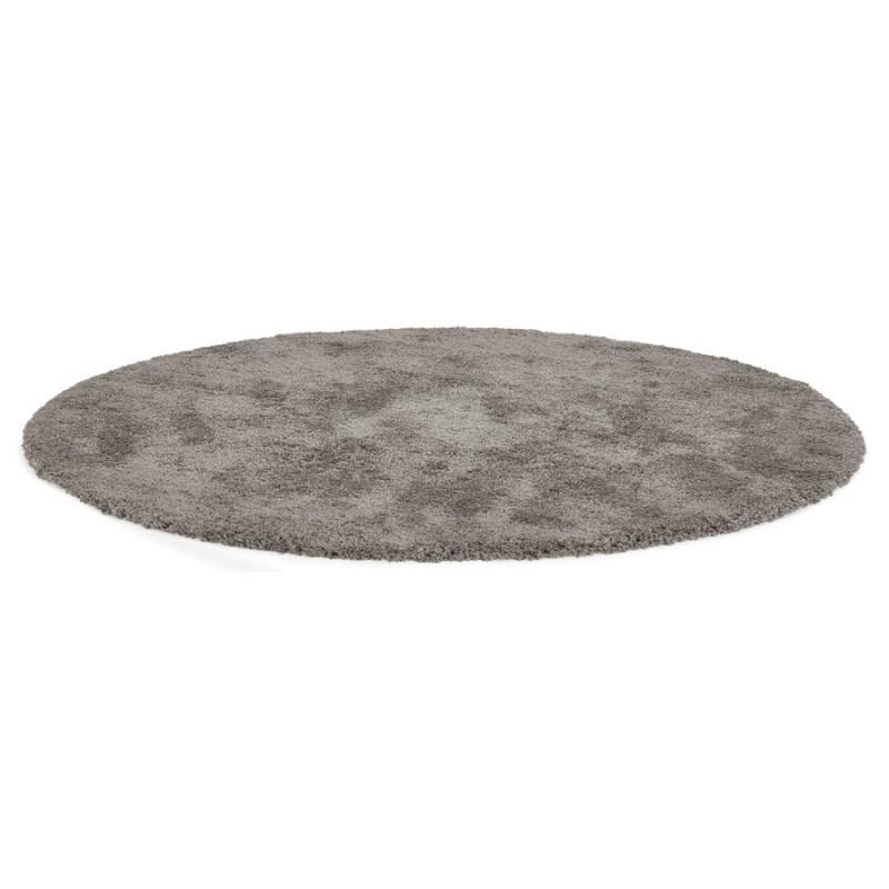 Tapis design rond (Ø 160 cm) SABRINA (gris foncé) - image 48570