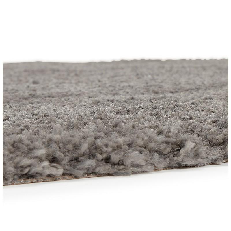 Tapis design rond (Ø 160 cm) SABRINA (gris foncé) - image 48571