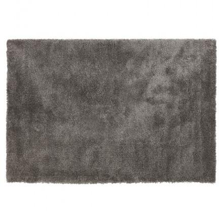 Tapis design rectangulaire - 160x230 cm SABRINA (gris foncé)