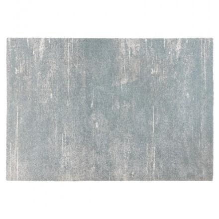 Tappeto di design rettangolare - 160x230 cm - SHERINE (azzurro cielo)