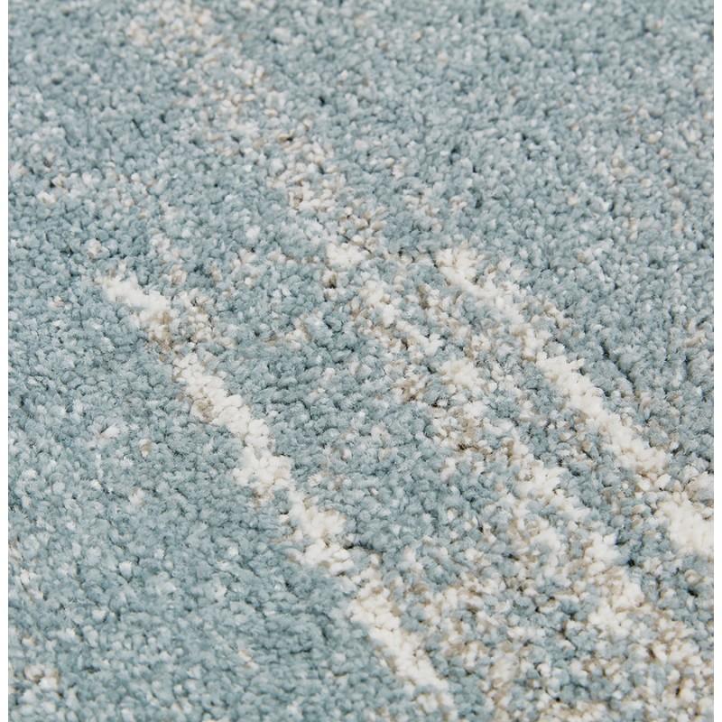 Tapis design rectangulaire - 160x230 cm - SHERINE (bleu ciel) - image 48650