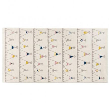 Tappeto rettangolare per bambini - 80x150 cm - HARISH (beige)
