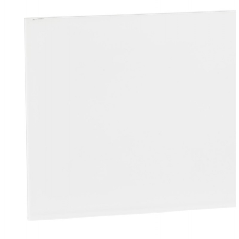 Diseño de vidrio y metal blanco (200x100 cm) WHITNEY (blanco) - image 48849