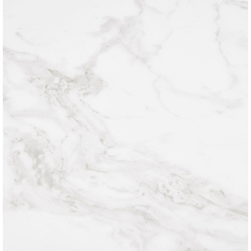 Design aus Keramik und Weißmetall (180x90 cm) FLORINA (weiß) - image 48863