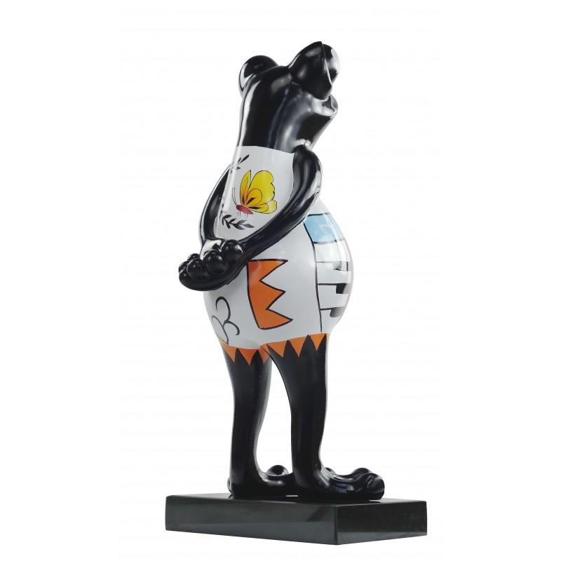 Design statua resina rana scultura decorativa psichedelico H68 (multicolor) - image 49176