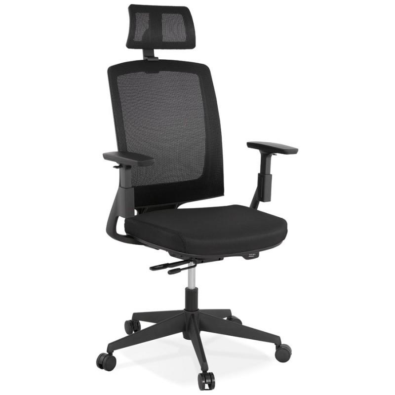 Sedia da tavolo ergonomica KAORI (nera) - image 49426