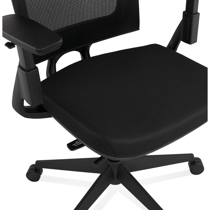 Silla de escritorio ergonómica KAORI (negro) - image 49439