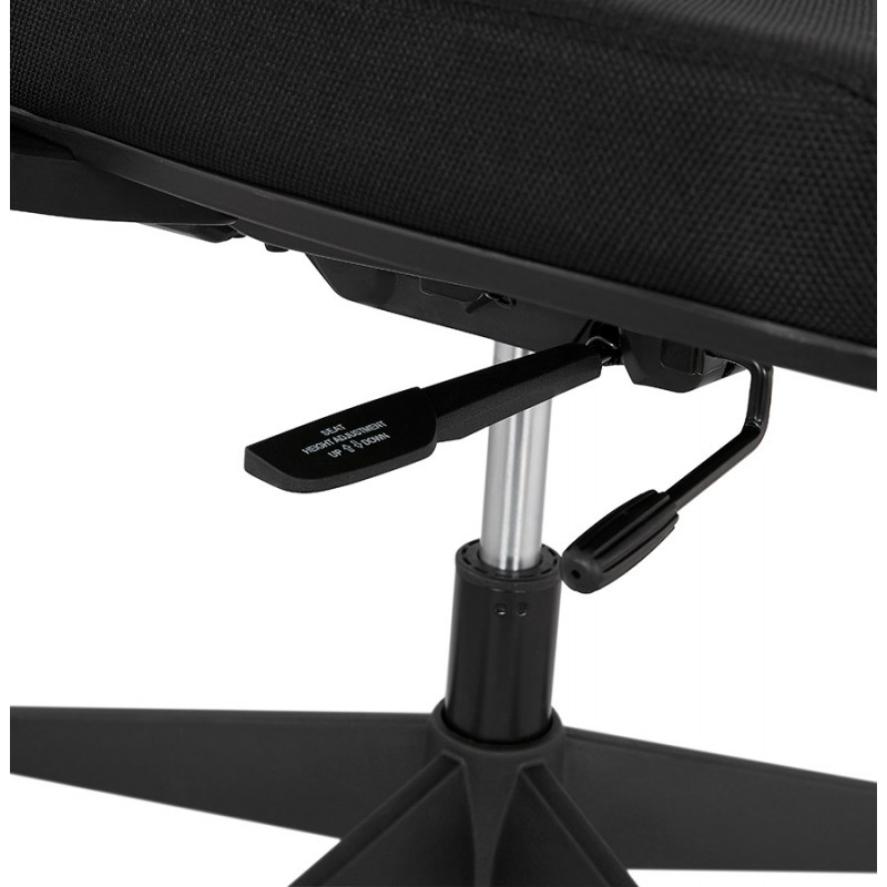 Ergonomische Bürosessel aus KAORI-Stoff (schwarz) - image 49440