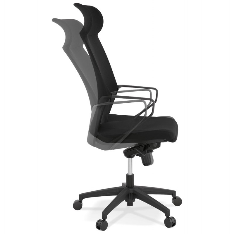 AYUMI fabric desk (black) - image 49450