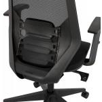 Ergonomischer Bürosessel aus AMAYA-Stoff (schwarz)