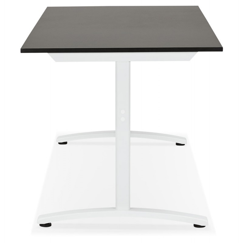 SONA white-footed wooden right desk (160x80 cm) (black) - image 49512