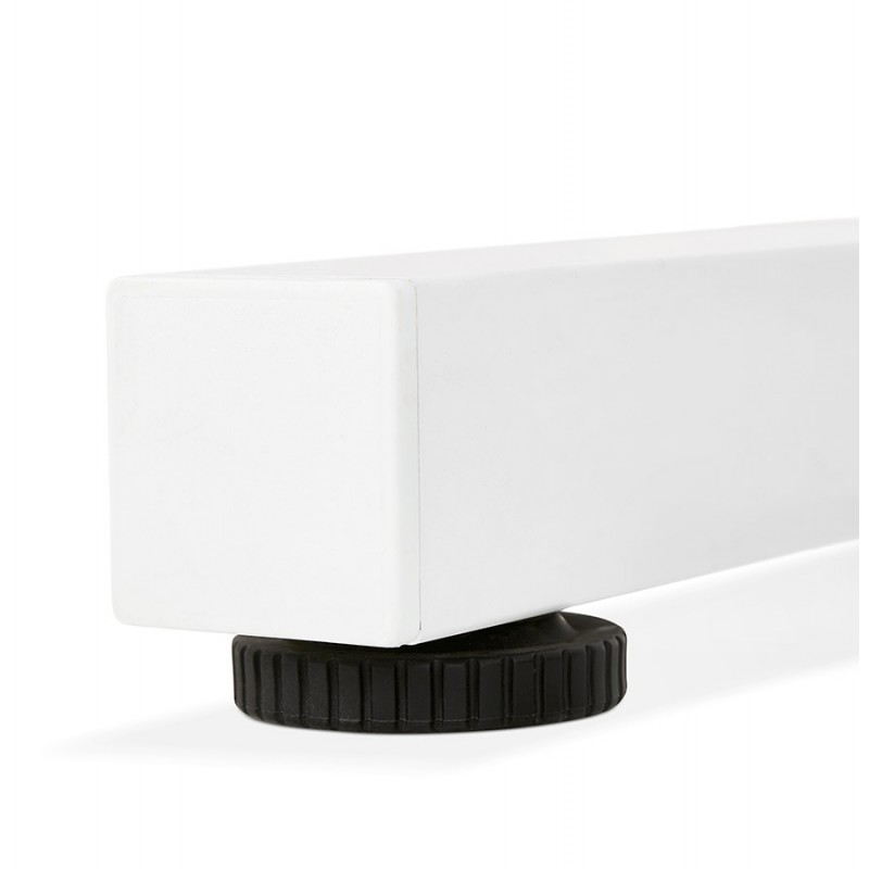 Standing desk sitting in wooden off-white feet NAOMIE (140x70 cm) (white) - image 49602