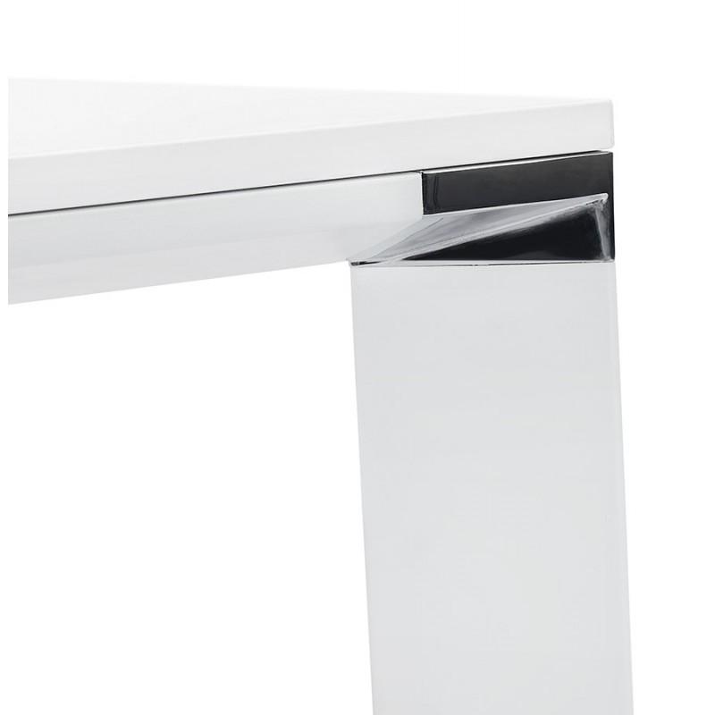 Tavolo da pranzo noRA in legno (200x100 cm) (bianco) - image 49630