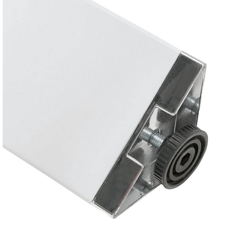Tavolo da pranzo noRA in legno (200x100 cm) (bianco) - image 49633