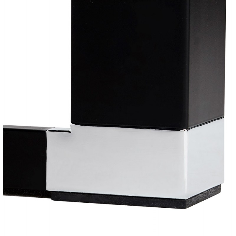 Design-Büro aus Holz schwarze Füße BOUNY (140x70 cm) (Nussbaum) - image 49744
