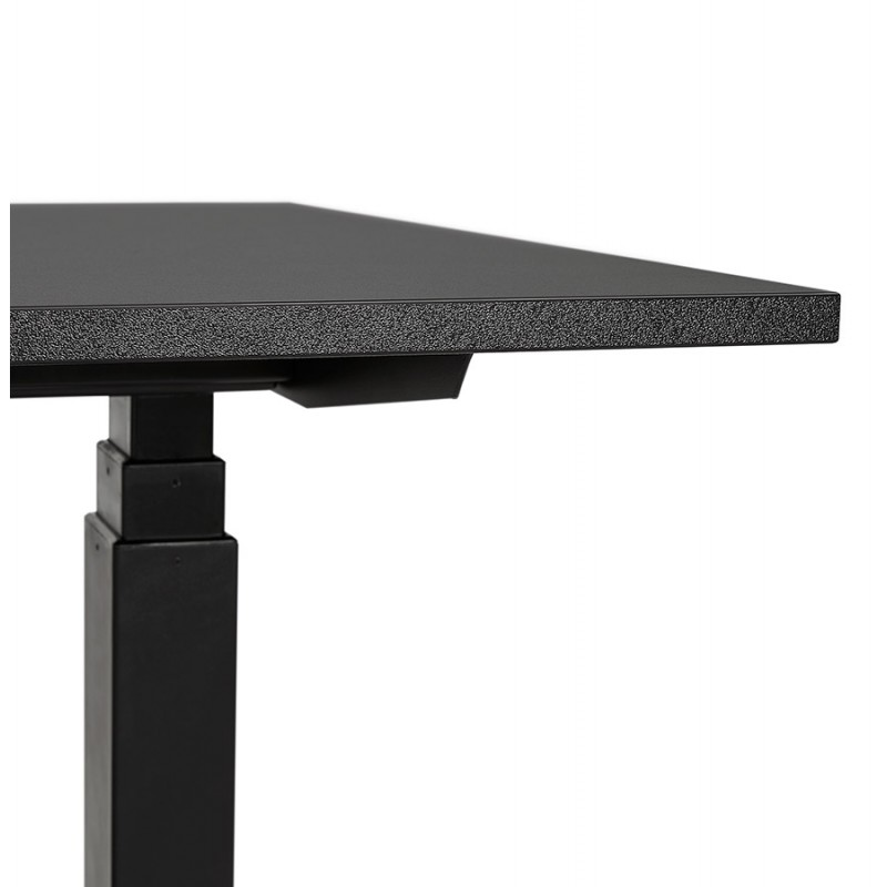 Seated standing electric wooden black feet KESSY (140x70 cm) (black) - image 49798